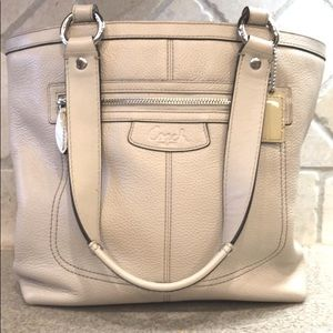 Coach Leather Bucket Handbag